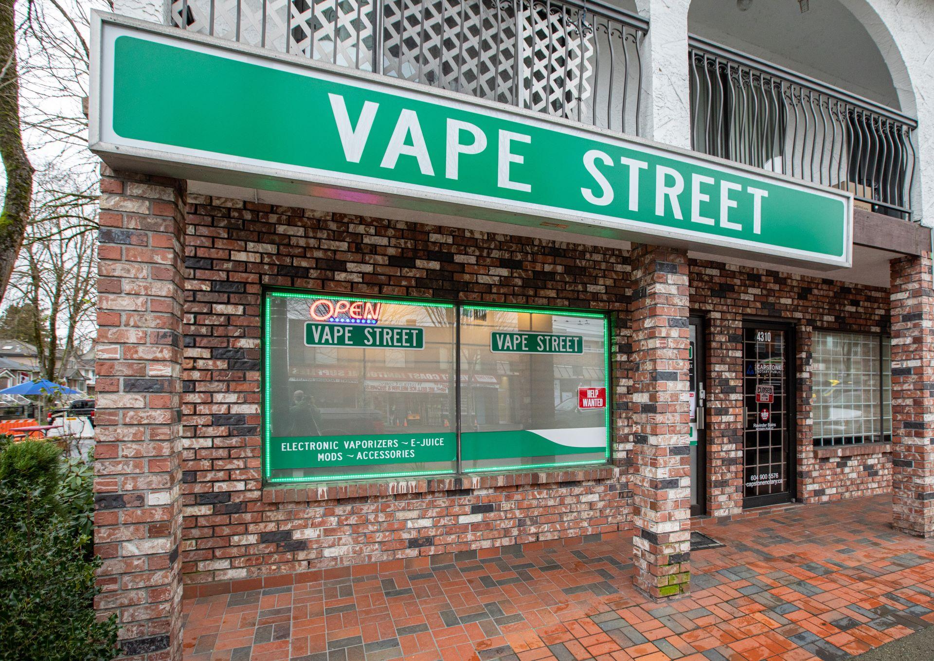 vape street fraser street