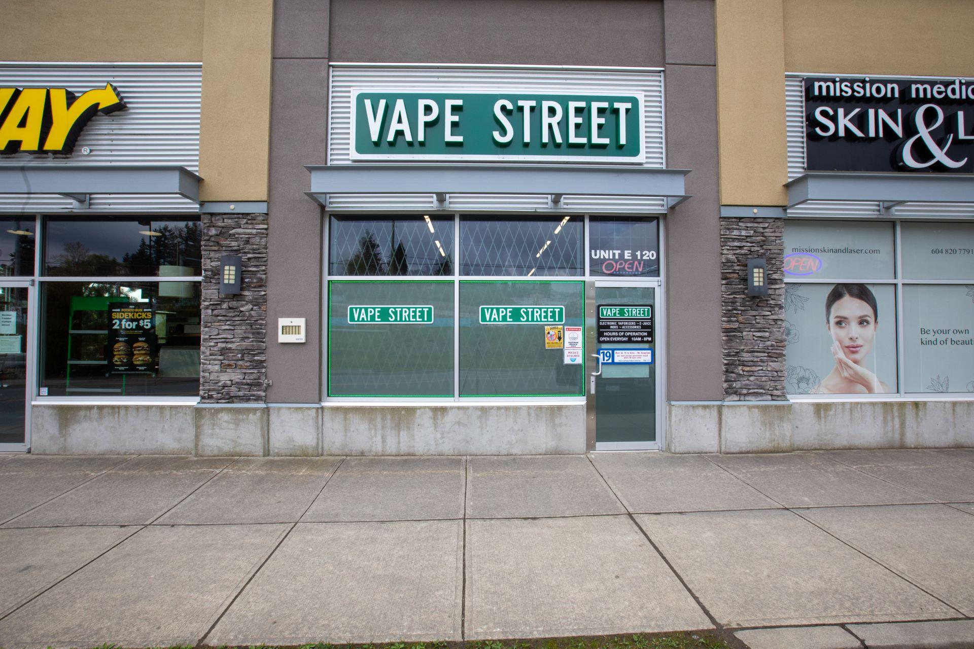 vape street mission lougheed