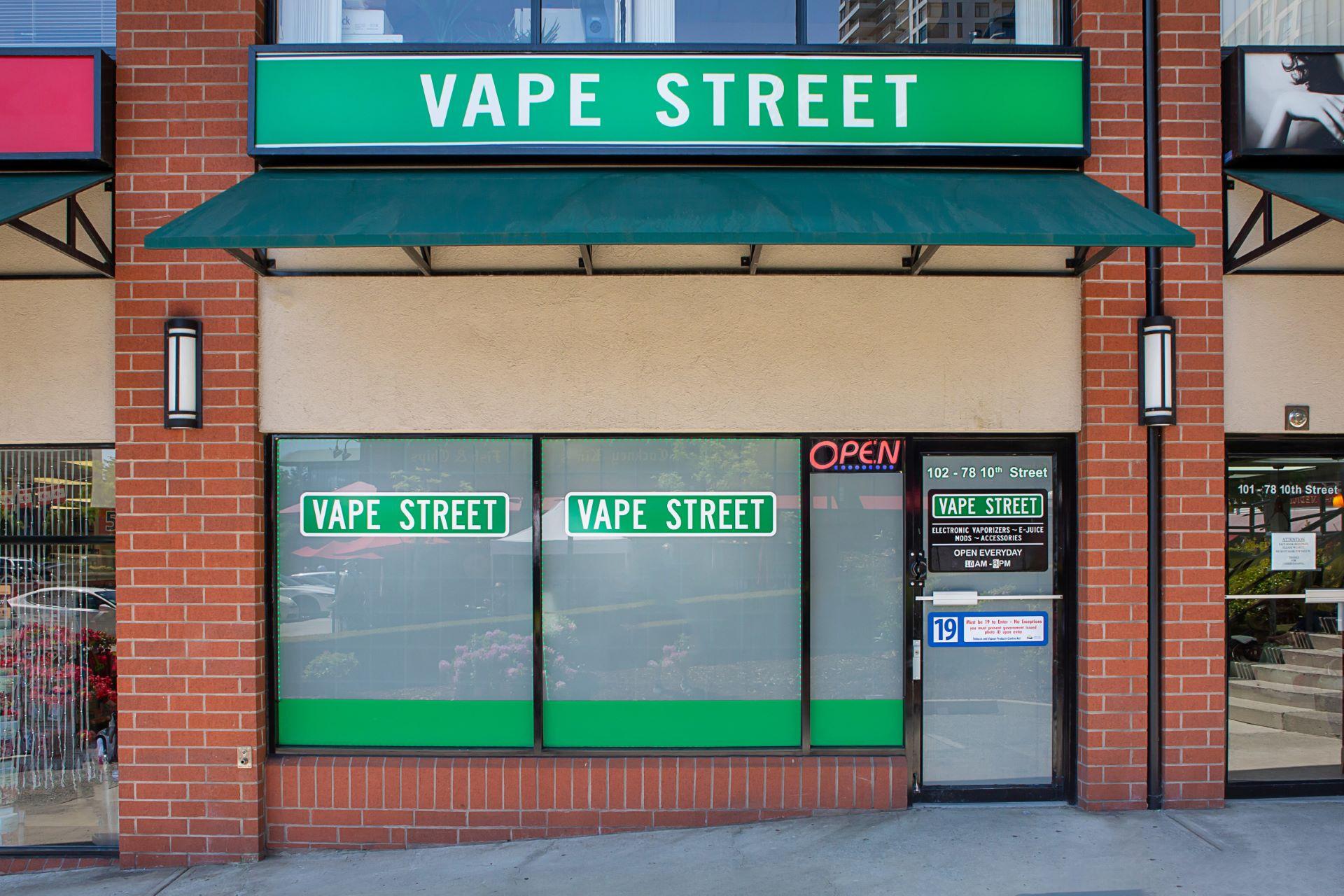 vape street new westminster