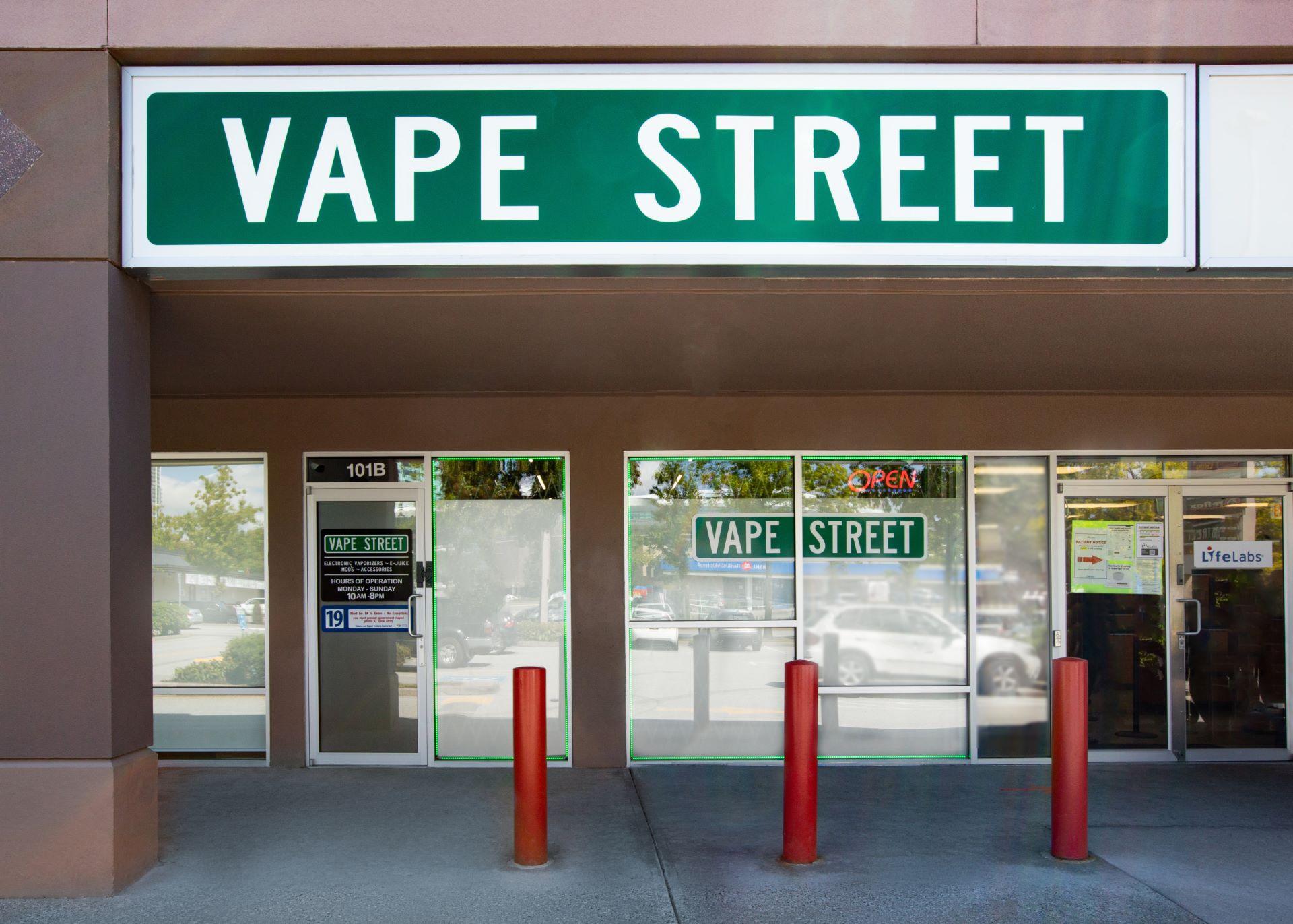 vape street surrey whalley