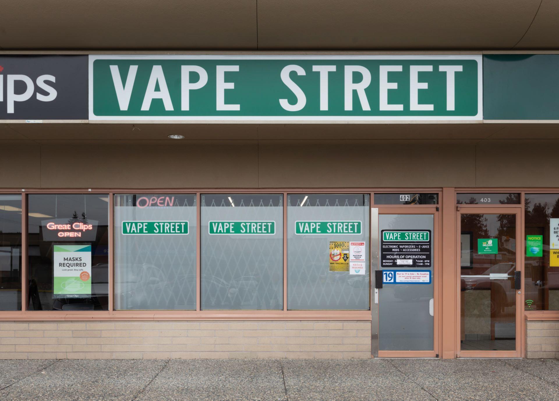 vape street westwood lougheed