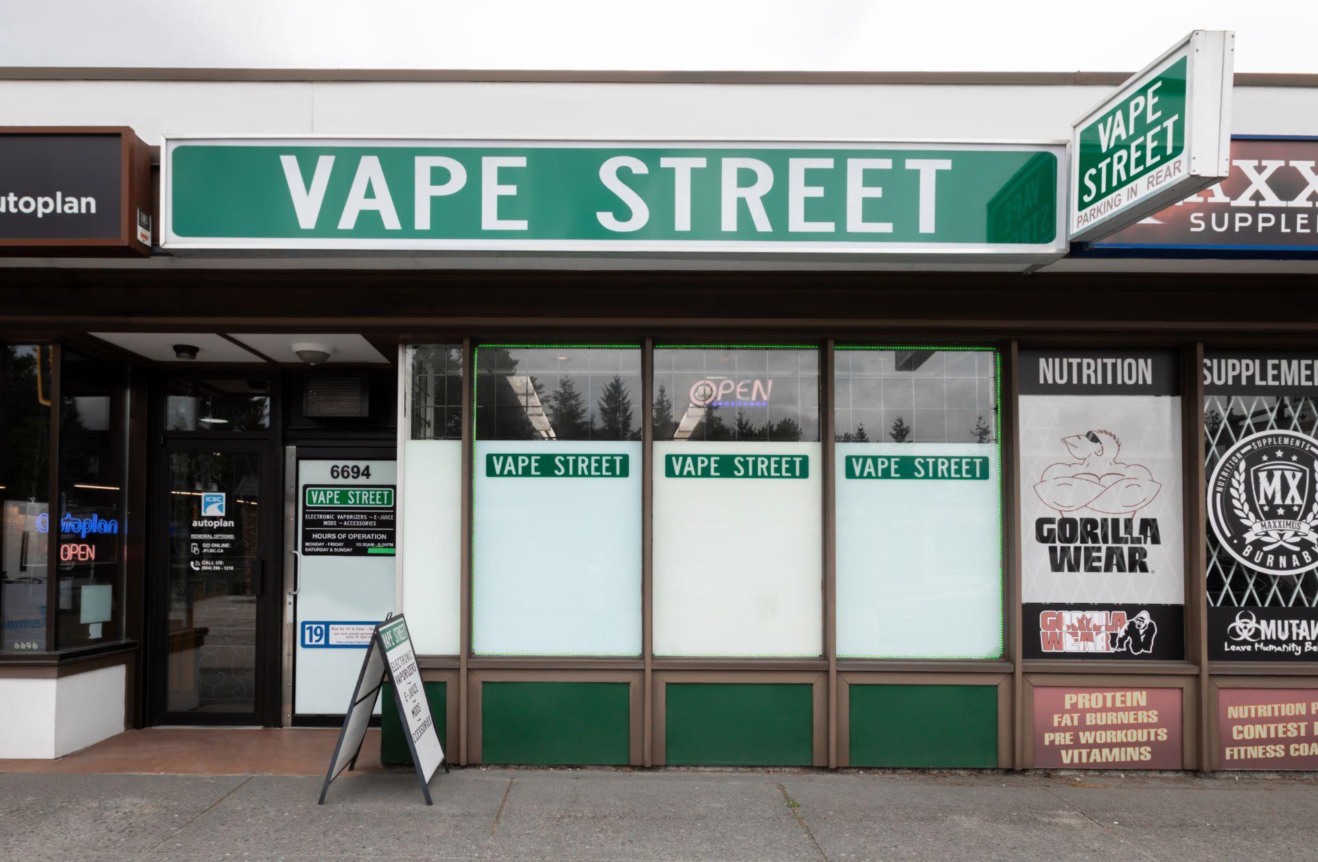 vape street north burnaby hastings